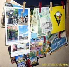 17.02.2016. Papiers photo,papiers monnaie, mes petits papiers préférés! Dublin, Flow, Photo Wall, Frame, Decor, Pennies, Paper, Picture Frame, Photograph
