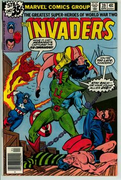 Invaders 39 (FN/VF 7.0)
