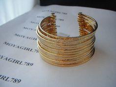 Lia Sophia Kiam Collection Jenny Gold Tone Cuff Bracelet RV $94 | Jewelry & Watches, Fashion Jewelry, Bracelets | eBay!  $25