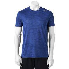 Big & Tall FILA Sport® TruDry Tee, Men's, Size: Xl Tall, Blue