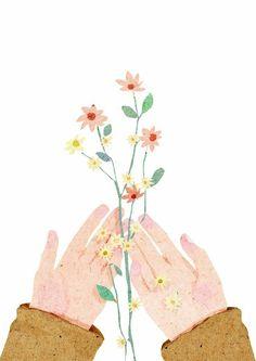 Primavera, flores, poesia, cor. É a arte amor.