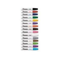 Sharpie Oil-Based Medium Point Paint Markers, 12 White Markers (34915) by Sharpie. $37.40. Sharpie Oil-Based Medium Point Paint Markers, 12 White Markers (34915). Save 13%!
