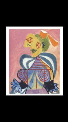 Pablo Picasso - L'Arlesienne, 1937 - Huile sur toile - 81 x 65 cm