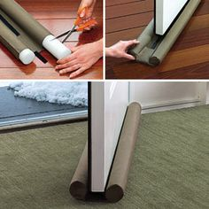 Attractive Really Good Door Guard. Drafts, Sound, Smell, Protection For Baseboards,  Cupboards.