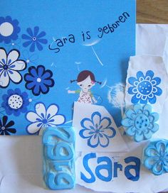 Sara stempels stamp - stamps - stempel