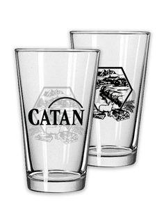Catan Pint Glass