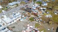"Roofs have blown off homes and lives have been torn apart across the island of Puerto Rico, which still has no power. ""Everything is destroyed,"" one resident tells NBC News' Gabe Gutierrez."