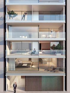 Multiresidential Golden Ratio Gent Vlaanderenstraat // ABS Bouwteam // Govaert & Vanhoutte Architects