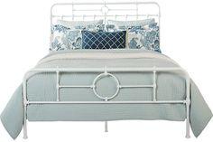 Safarina White 3 Pc King Bed