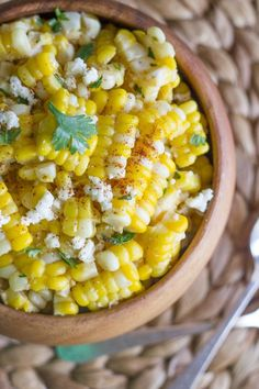 The Ultimate Fourth of July Soiree | +Awesome Recipes... like this CHILI LIME SWEET CORN SALAD on the EcoHabitude Blog!