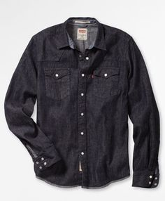 Levi's Denim Shirt/ Rinse