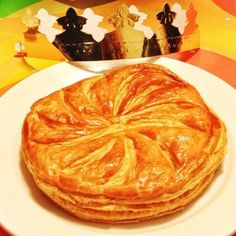 King cake for #epiphany day. #galettedurois by a new #patisserie in town #macau