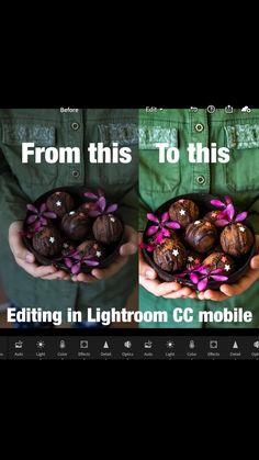 Photo Editing Vsco, Photography Editing, Food Photography, Portrait Photography, Vegan Snacks, Vegan Desserts, Vegan Recipes, Lightroom Tutorial, Food Journal