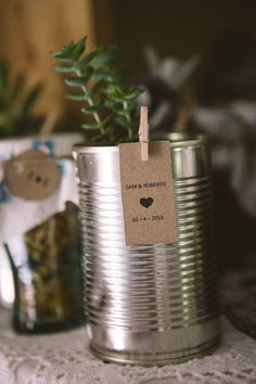 tin can as table or place name