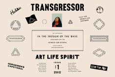 transgressor magazine