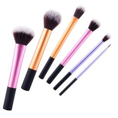 Professional 6PCS  Makeup Brushes Sets Soft Face Cosmetics Power Foundation Blusher Cosmetic Makeup Beauty Brushes Tools Kits