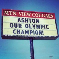 Ashton Eaton Makes Bend, Oregon Proud