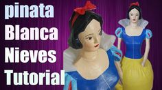 video tutorial de piñata Blanca Nieves! Youtube, Snow White, Disney Characters, Fictional Characters, Disney Princess, Everyday Activities, Costumes, How To Make, Princesses