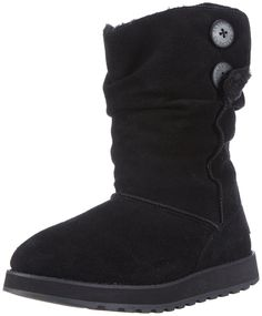 Skechers Women's Keepsakes-Freezing Temps Faux Fur Boot,Black,8.5 M US *** New and awesome boots awaits you, Read it now  : Women's snow boots