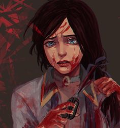 """And what's the difference between a woman and a girl? Blood."" #bioshock #infinite"