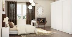 Poltrona Borgonha Suede Marrom Oversized Mirror, Furniture, Ideas, Home Decor, Burgundy, Brown, Home, Decoration Home, Room Decor