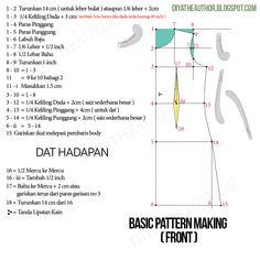 Ini pola asas PERCUMA yang mudah dan boleh dipelajari dari Giat Mara. Boleh diubahsuai jadi kurung, jubah, fesyen dan sebagainya Dress Sewing Patterns, Pattern Making, Dan, Chart, Women's Fashion, How To Make, Blog, Fashion Women