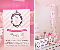 Pretty in Pink Princess Party