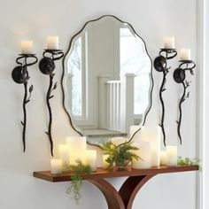 "Teodora Mirror $199 for 30""W x 40""H $149 for 20""W x 30""H"