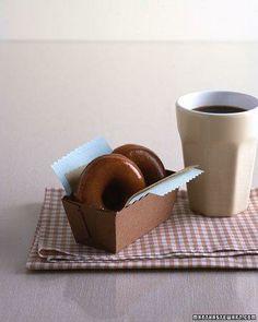 Espresso-Glazed Doughnuts Recipe