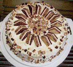 Sadis Knopperstorte, ein tolles Rezept mit Bild aus der Kategorie Torten. 24 Bewertungen: Ø 4,6. Tags: Backen, Torte