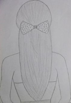 Rabiscos :) shared by Jeny Trindade on We Heart It Drawing Hair/laço by: JeenyTrindade ♥ Disney Drawings Sketches, Girl Drawing Sketches, Cute Easy Drawings, Art Drawings Beautiful, Girly Drawings, Art Drawings Sketches Simple, Cartoon Drawings, Pencil Sketches Of Girls, Easy Drawings Of Girls