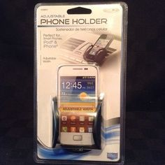 NIP iphone IPod MP3 Ipod Car Cell Phone Holder Adjustable Hands Free Drive #UnbrandedGeneric