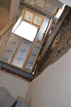 A rear mansard loft conversion into one large master bedroom with ensuite shower room and rear extension in London stock bricks into Study - Shepherds Bush W12