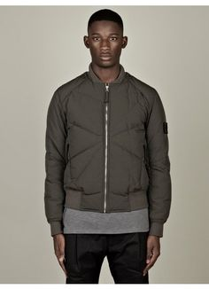 Stone Island Shadow Project Men's Down Filled Bomber Jacket
