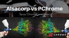 Alsacorp VS PChrome Spray Chrome Comparison