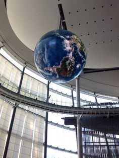 Miraikan (National Museum of Emerging Science and Innovation) #Japan #Tokyo #Globe