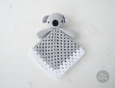 Instant download - --- This listing is only a PDF PATTERN, not a finished product --- This adorable Koala Bear lovey is a plush toy and security blanket all in one! Koala will become a good friend for your baby. The PDF Pattern is very easy to follow and suitable for beginners. It