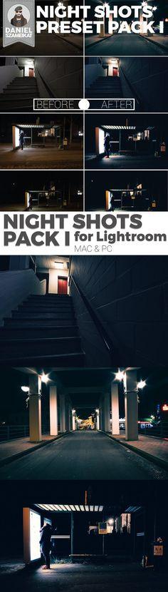 Night Shot Lightroom Preset Pack I. Plug-ins. $4.00