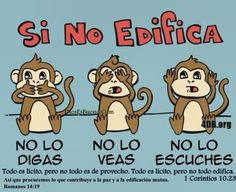Si no edificas Faith Quotes, Bible Quotes, Bible Verses, Wise Monkeys, God Loves Me, God First, Spanish Quotes, Quotes About God, Dear God