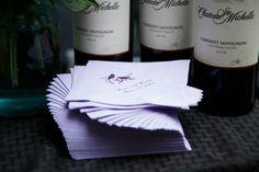 Purple Wedding Cocktail Napkins