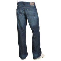 Nautica Loose Fit Slub Denim Jean in Coastal Patrol Men's Jeans - Coastal Patrol