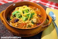 PEANUT BUTTER AND FITNESS: Turkey Chili with Kale