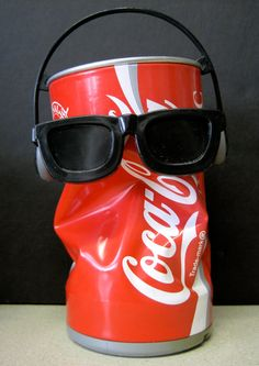 Dancing Coke Can...i had this same thing, but it was a can of Molson Canadian Beer!