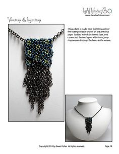 TUTORIAL Lozenge Bracelet Beaded Angle Weave with by gwenbeads