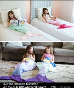 Mermaid bag blankets? So want if have a daughter one day. KC