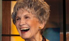 Alice Munro, Winner of Nobel Prize in Literature 2013 -=- Canadian Author in her 80's :: An Inspiration to All Women & All future Authors for her Magical Golden Turns of Phrases that Everyone Can Relate To, Congratulations & We Look Forward to Your Next Tome !! <3