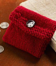 Knit Change Purse