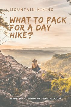 There's nothing better than a day spent exploring the mountains. Make sure you are well prepared before you set off by using this day hiking checklist #dayhikes #hikingpackinglist Road Trip Packing, Packing List For Travel, Travel Tips, Travelling Tips, Packing Lists, Travel Advice, Travel Essentials, Travel Destinations, Hiking Checklist
