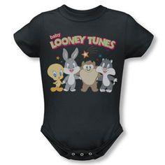 Th', th' that's Onesie, folks! Looney Tunes Baby Onesie