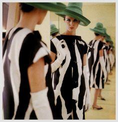 60s-women-fashion-vogue-by-norman parkinson-10 | Trendland